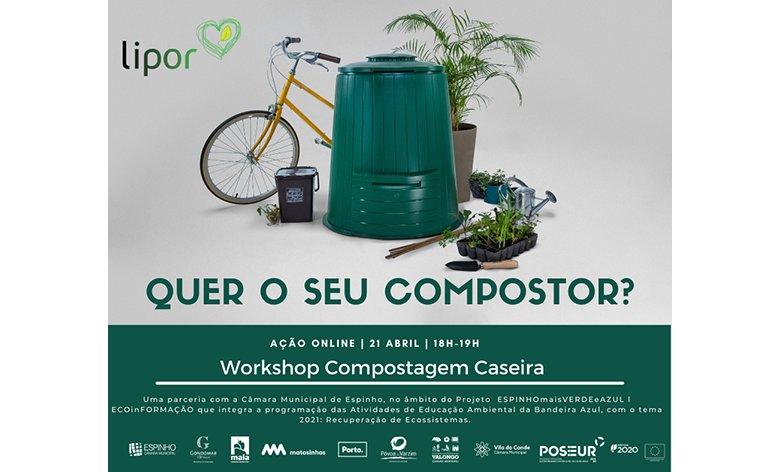 Workshop COMPOSTAGEM CASEIRA com LIPOR