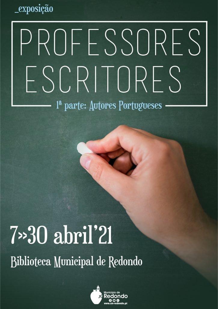 """Exposição """"Professores Escritores – 1ª parte: Autores Portugueses"""""""