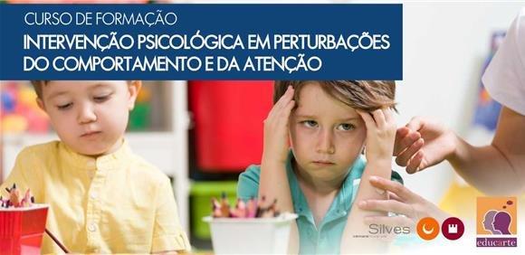 """Curso de Formação """"Intervenção Psicológica em Perturbações do Comportamento e da Atenção"""