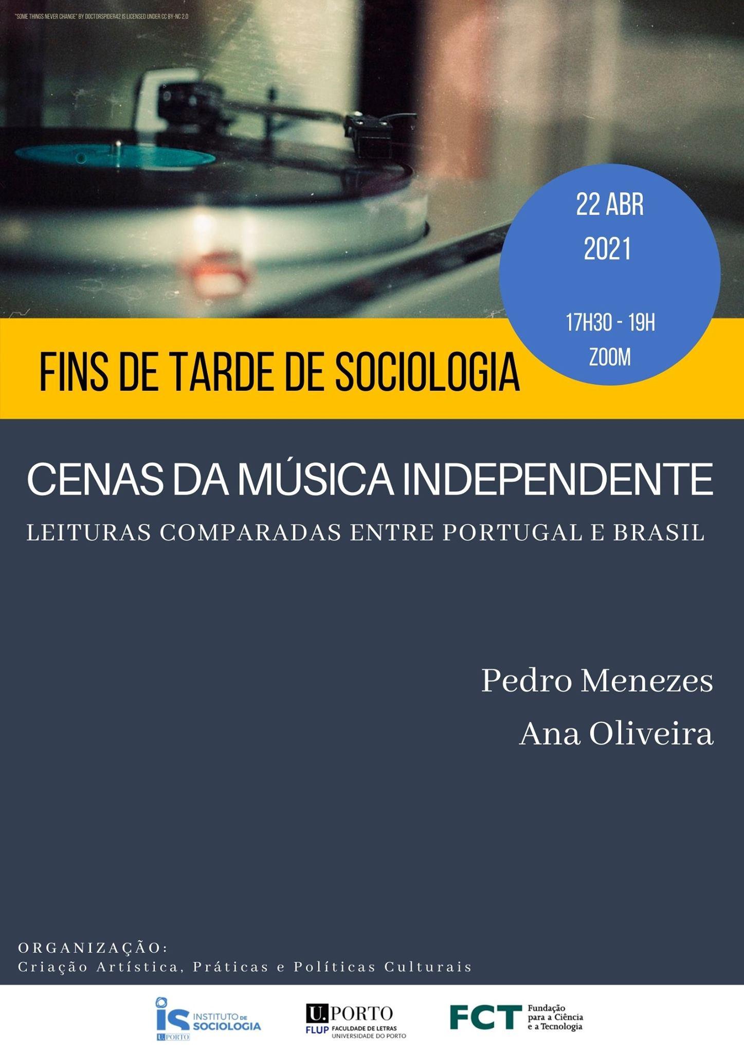 Fins de Tarde de Sociologia: Cenas da Música Independente