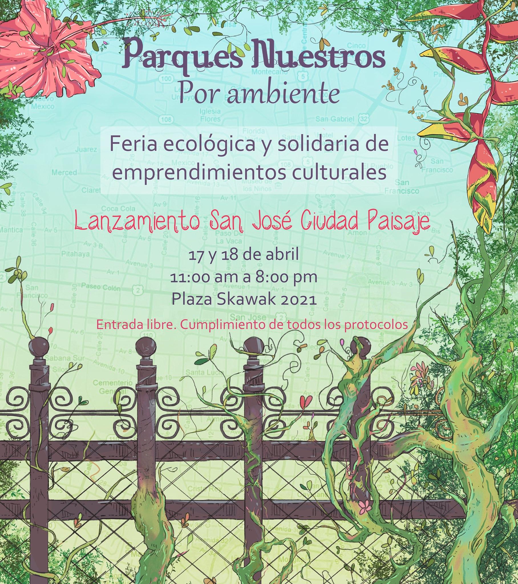 'Parques nuestros' por ambiente