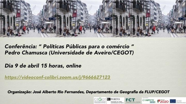 Conferência 'Políticas Públicas para o comércio'