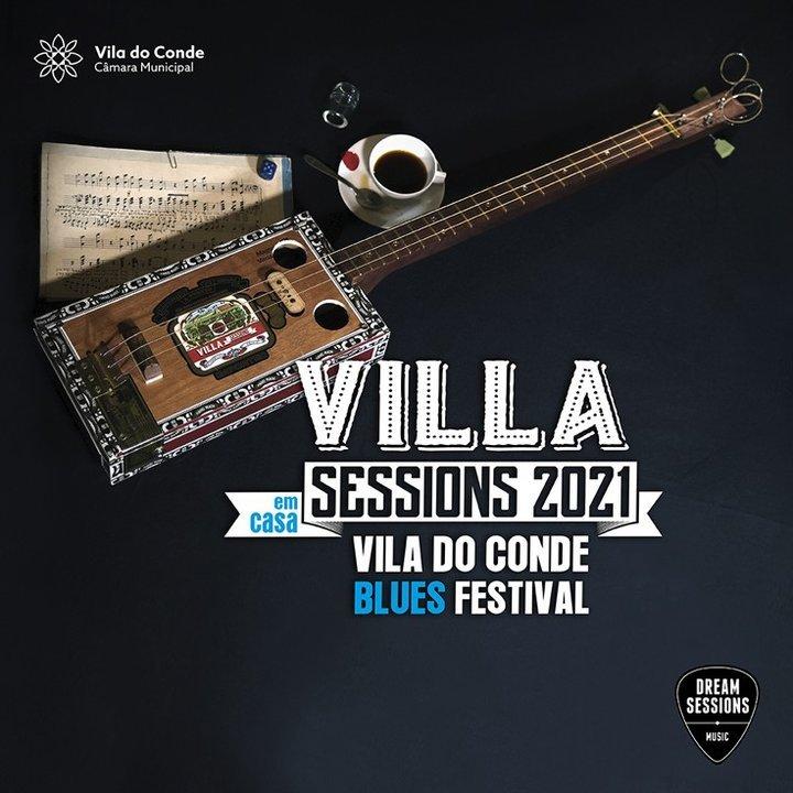 """""""Villa Sessions"""" - Festival de Blues em formato online e gratuito"""