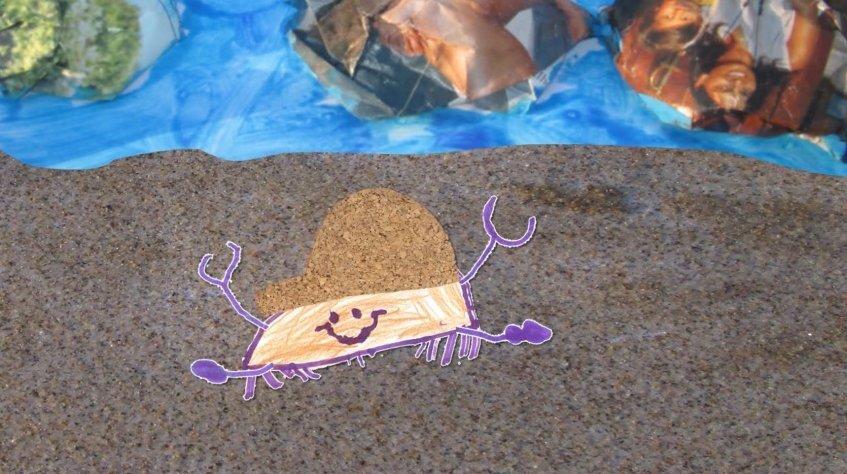 Mas que grande animação - 'Um caranguejo vaidoso'