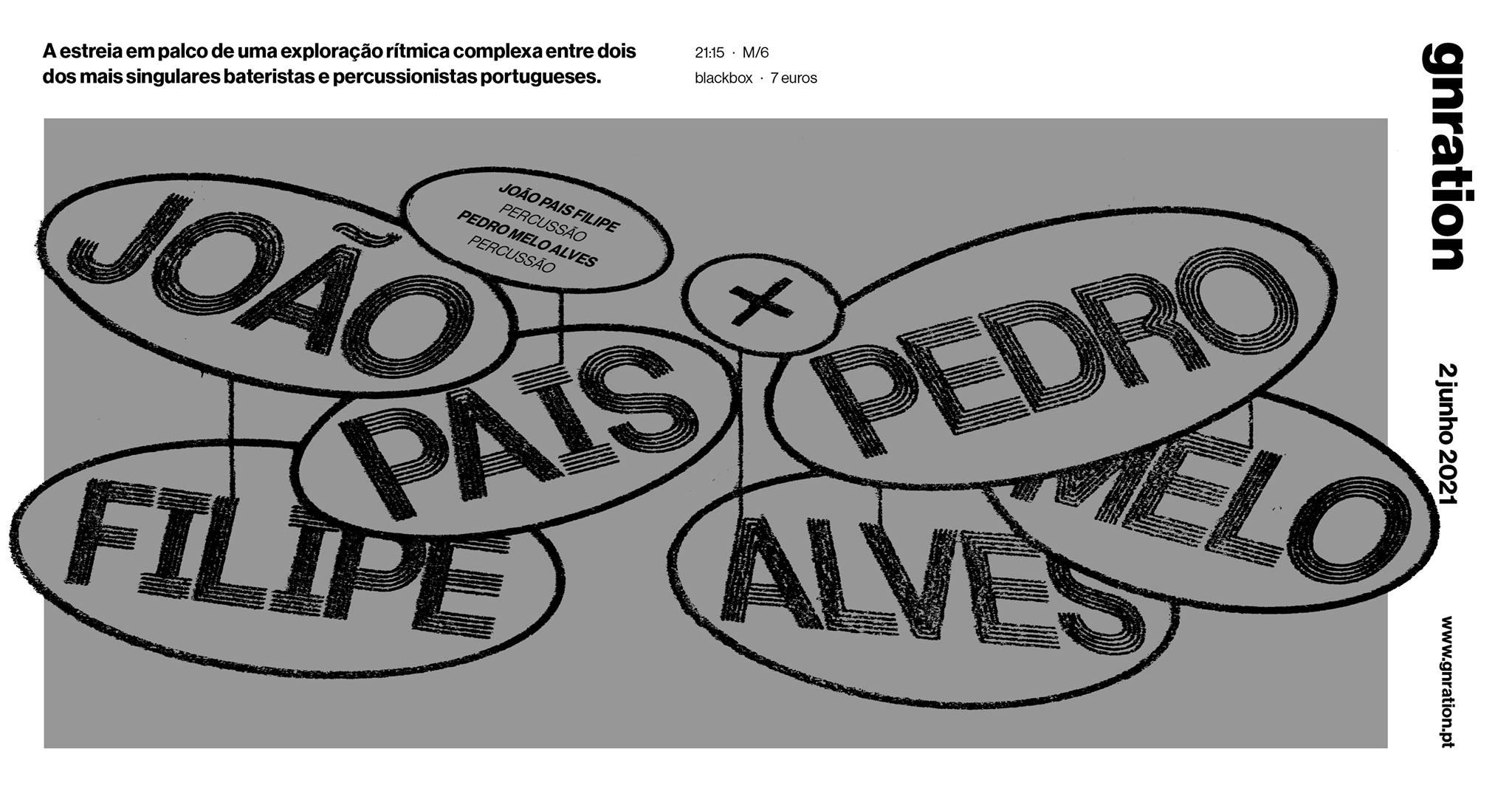 João Pais Filipe + Pedro Melo Alves   gnration