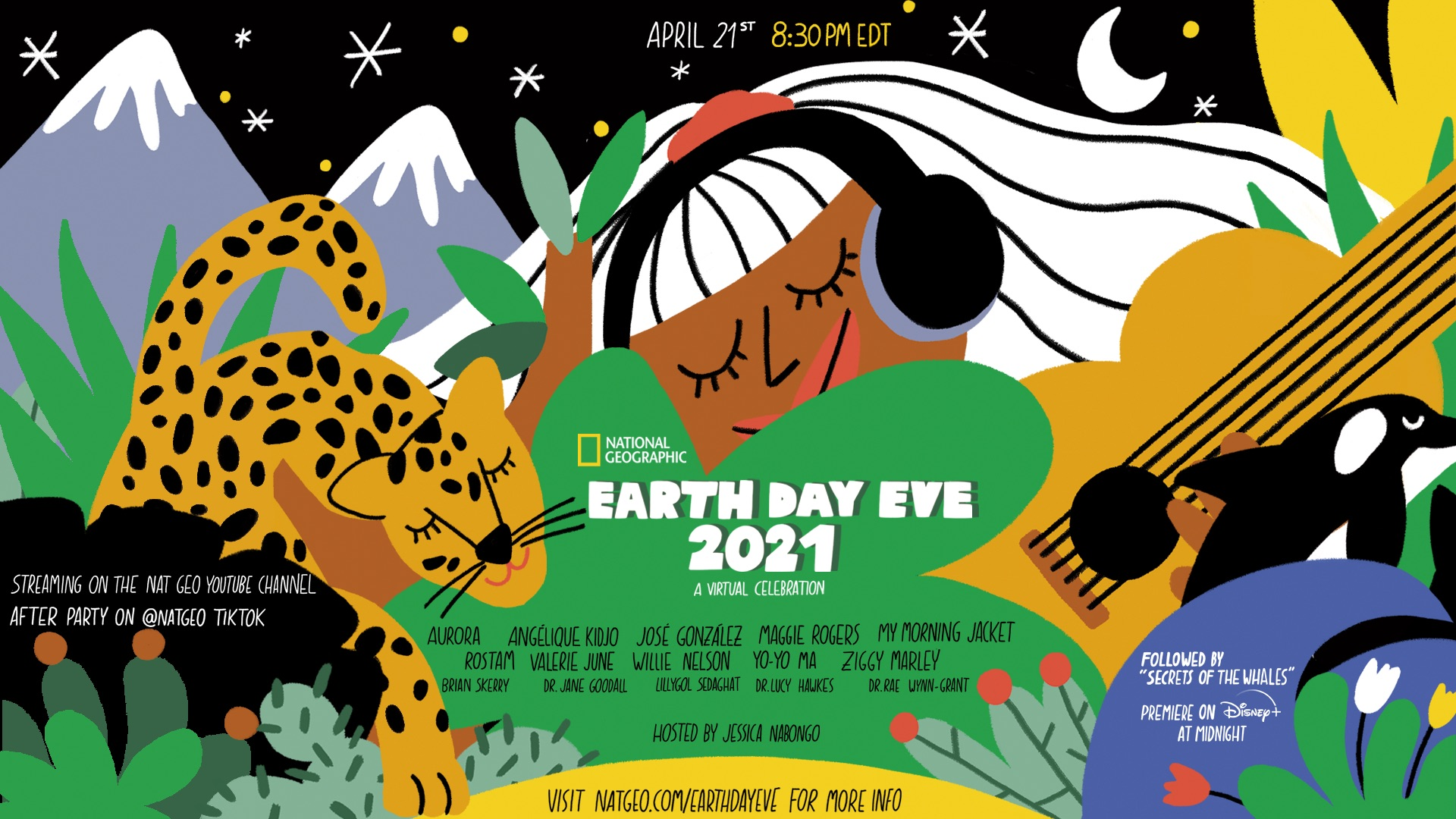 Nat Geo's Earth Day Eve 2021