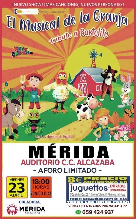 El musical de la granja. Tributo a Bartolito