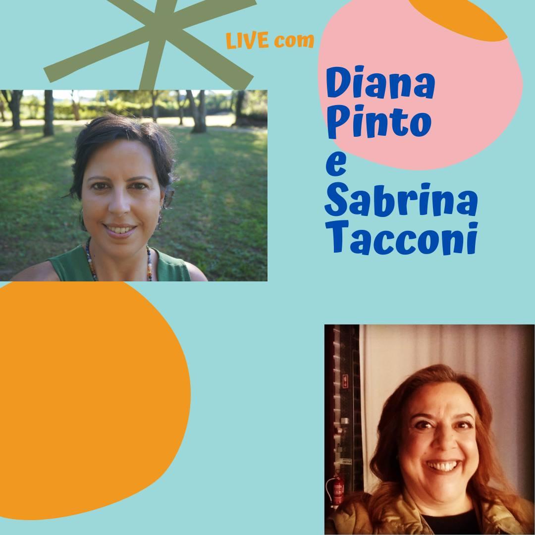 Rir com Diana Pinto e com Sabrina Tacconi