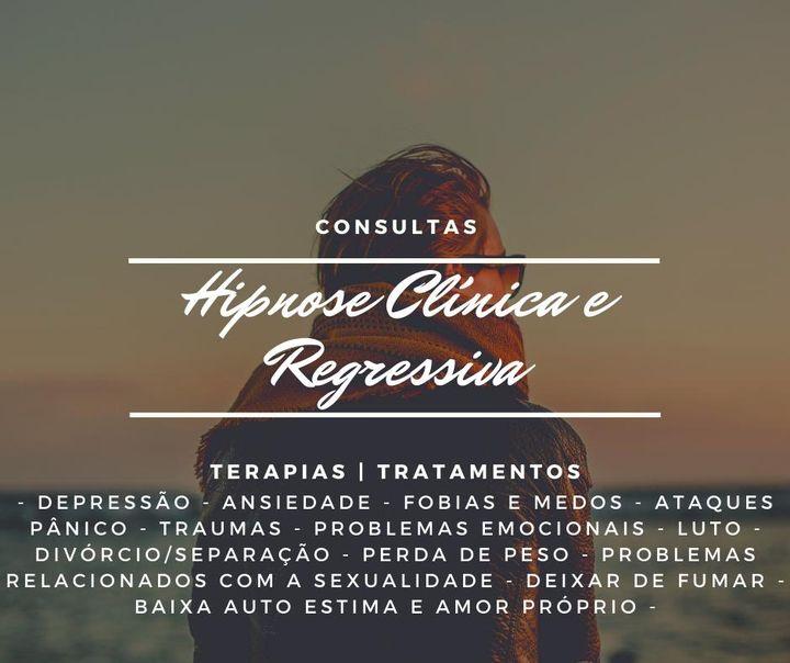 Consulta Hipnose Clinica e Regressiva