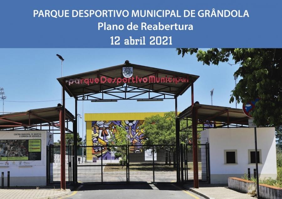 Reabertura do Parque Desportivo Municipal – 12 de abril