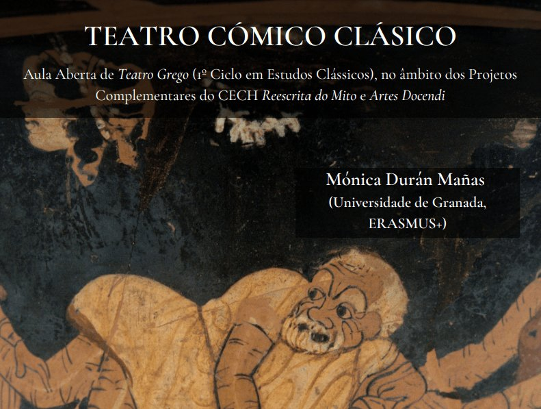 "Aula Aberta ""Teatro Cómico Clásico"""