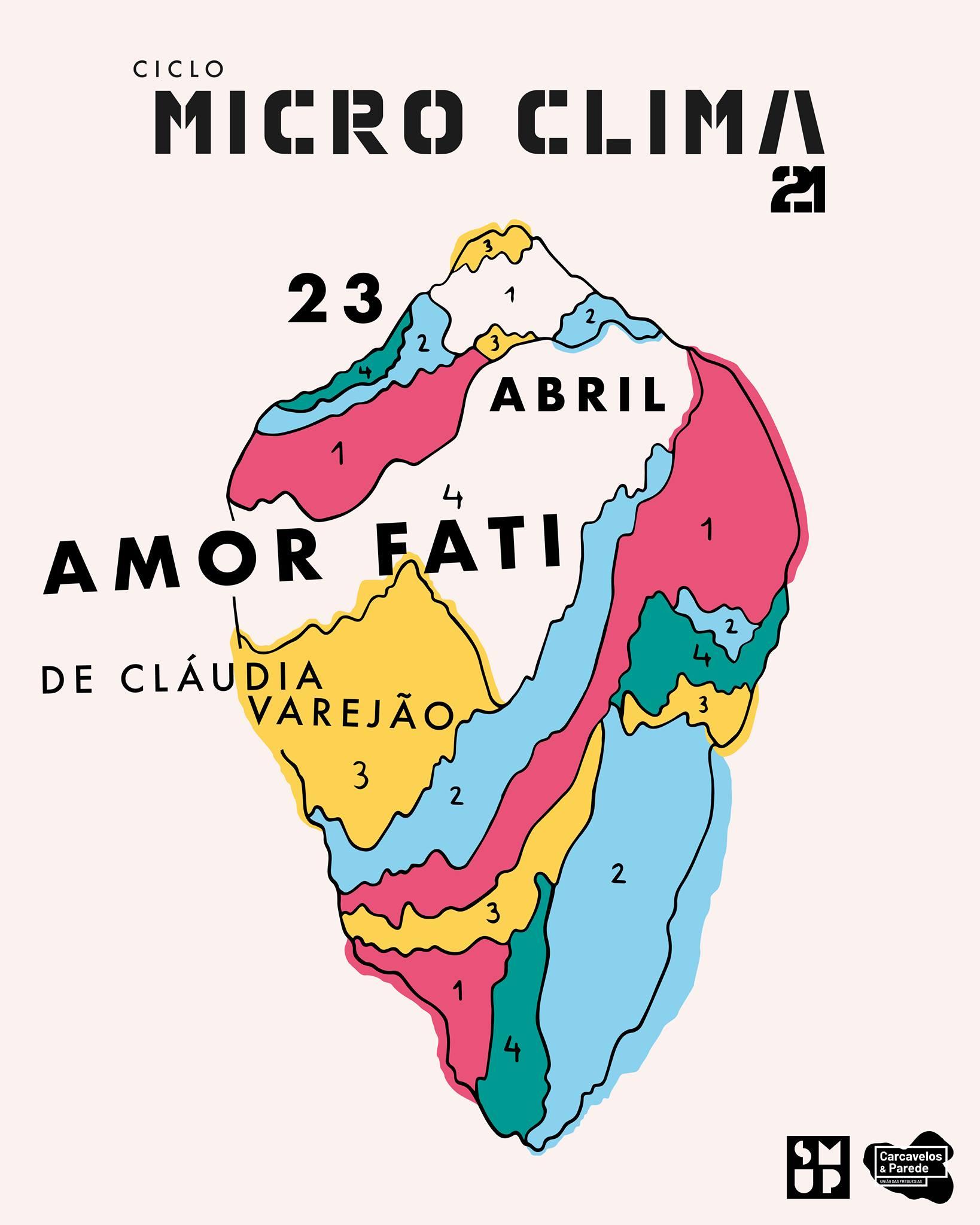 Ciclo Micro Clima - Amor Fati de Cláudia Varejão