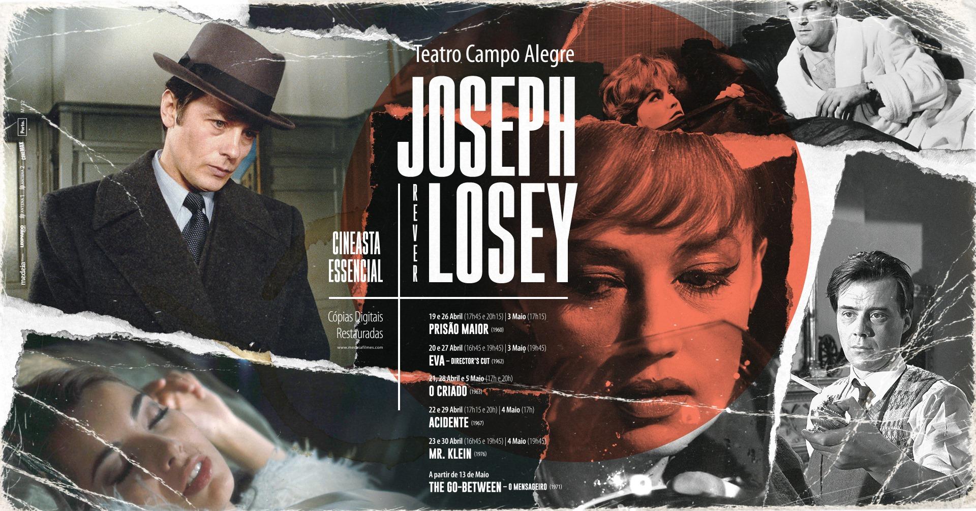 Ciclo de cinema: REVER JOSEPH LOSEY, CINEASTA ESSENCIAL | Teatro Campo Alegre