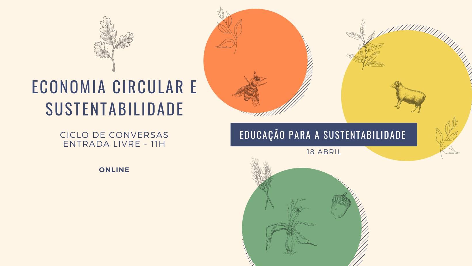 Ciclo de Conversa Educação Para a Sustentabilidade (sessão 6)