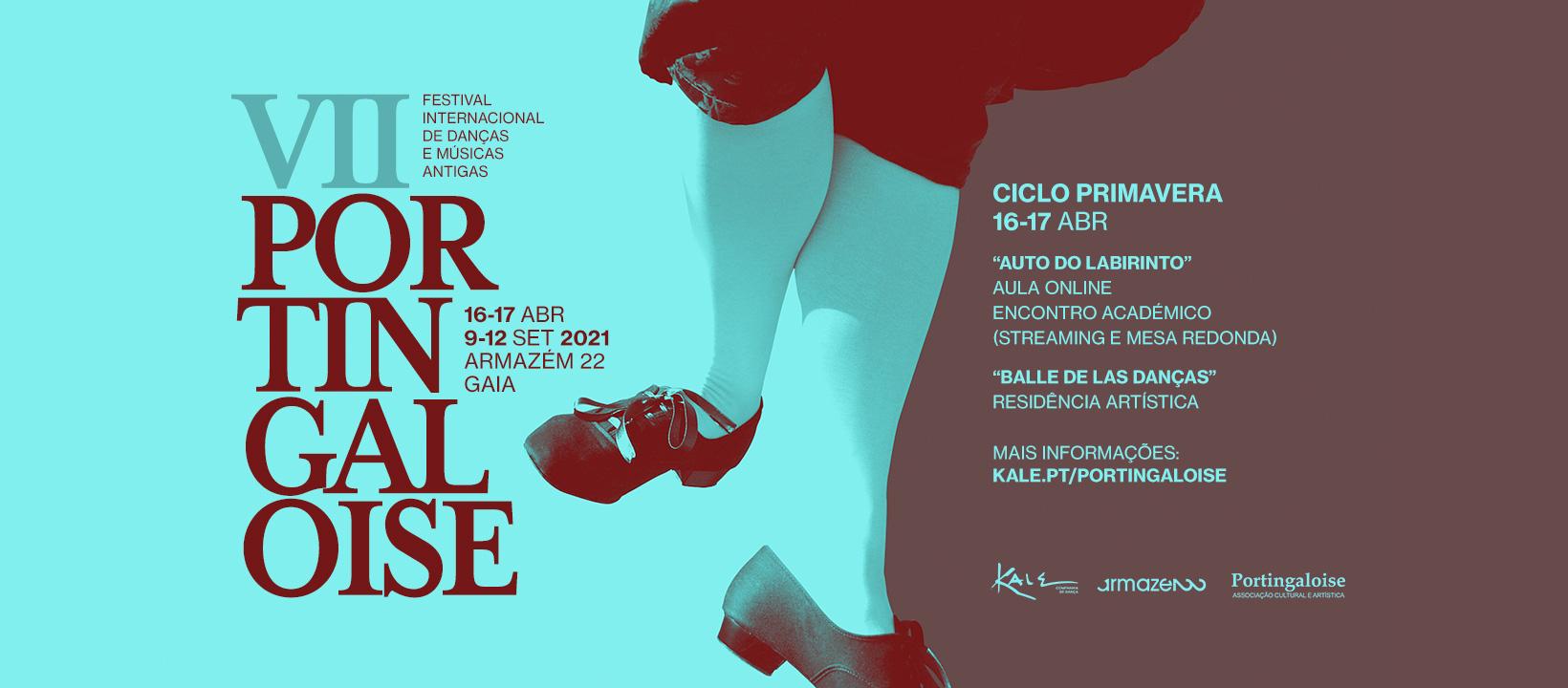 VII PORTINGALOISE | AULA ONLINE Dança Renascentista no Auto do Labirinto