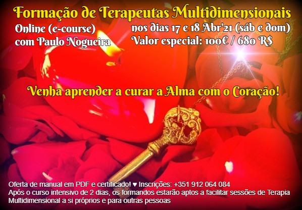 Curso Online de Terapia Multidimensional a 17 e 18 Abr'21