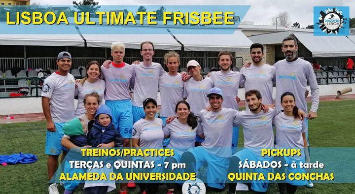 Lisbon Ultimate Frisbee Training - 3 (2021)