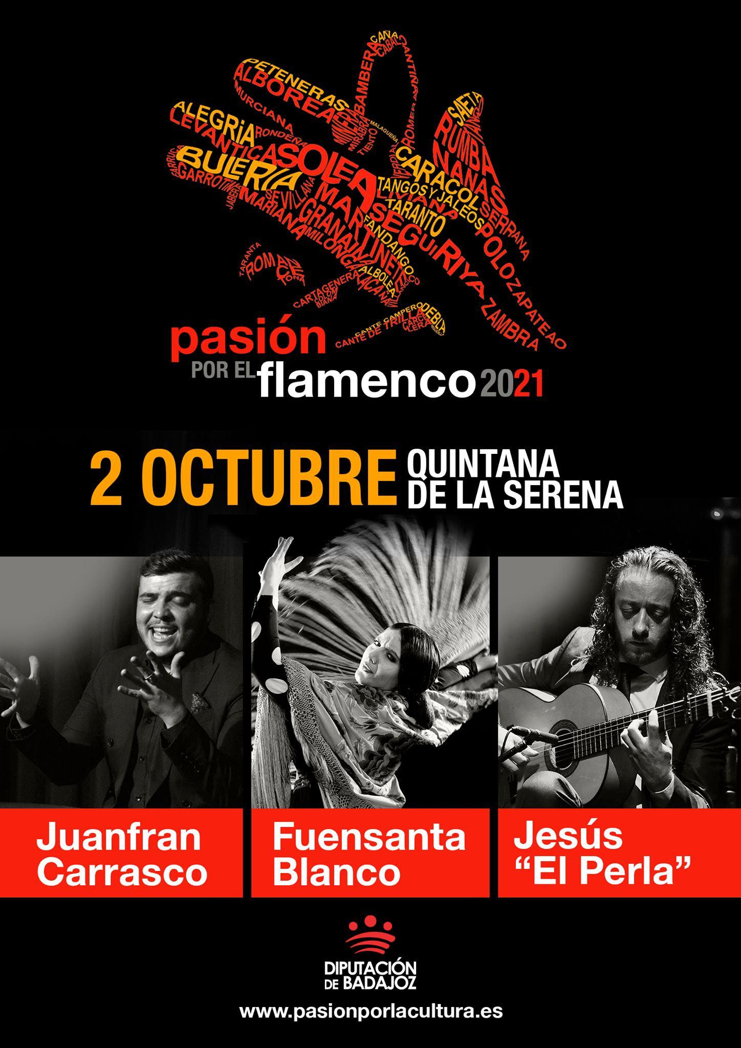 PASIÓN POR EL FLAMENCO | Juanfran Carrasco + Fuensanta Blanco + Jesús 'El Perla'