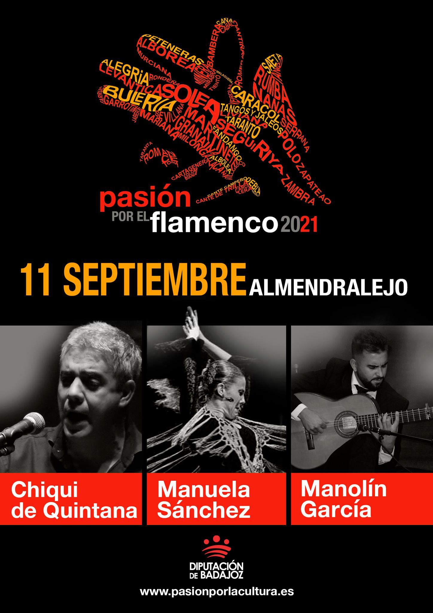 PASIÓN POR EL FLAMENCO | Chiqui de Quintana + Manuela Sánchez + Manolín García