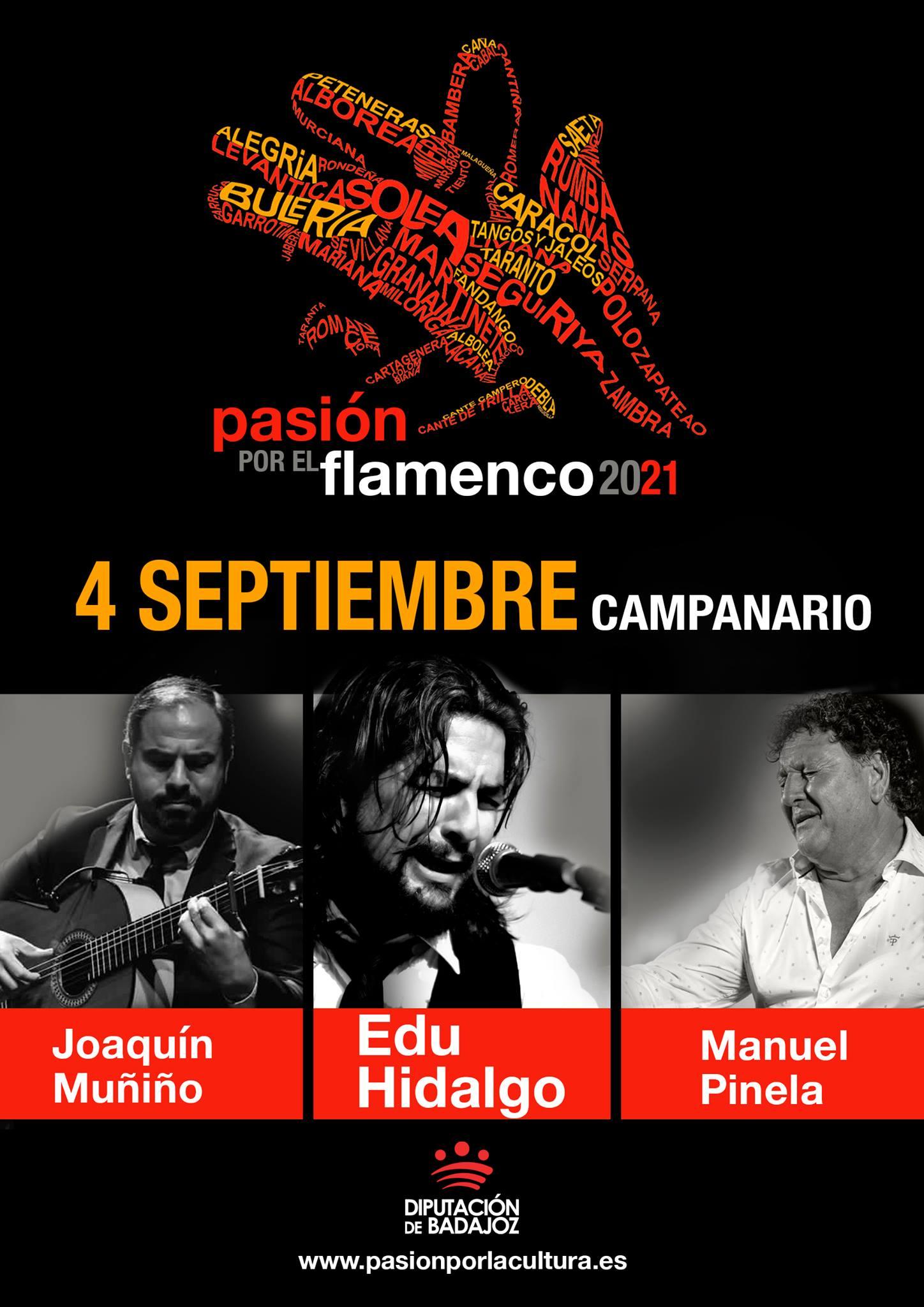 PASIÓN POR EL FLAMENCO | Edu Hidalgo + Manuel Pinela + Joaquín Muñino