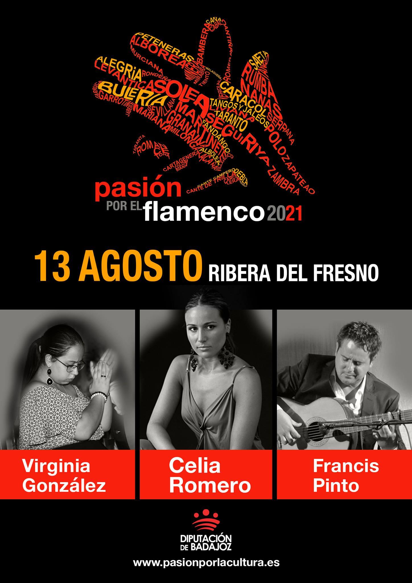 PASIÓN POR EL FLAMENCO | Celia Romero + Virginia González + Francis Pinto