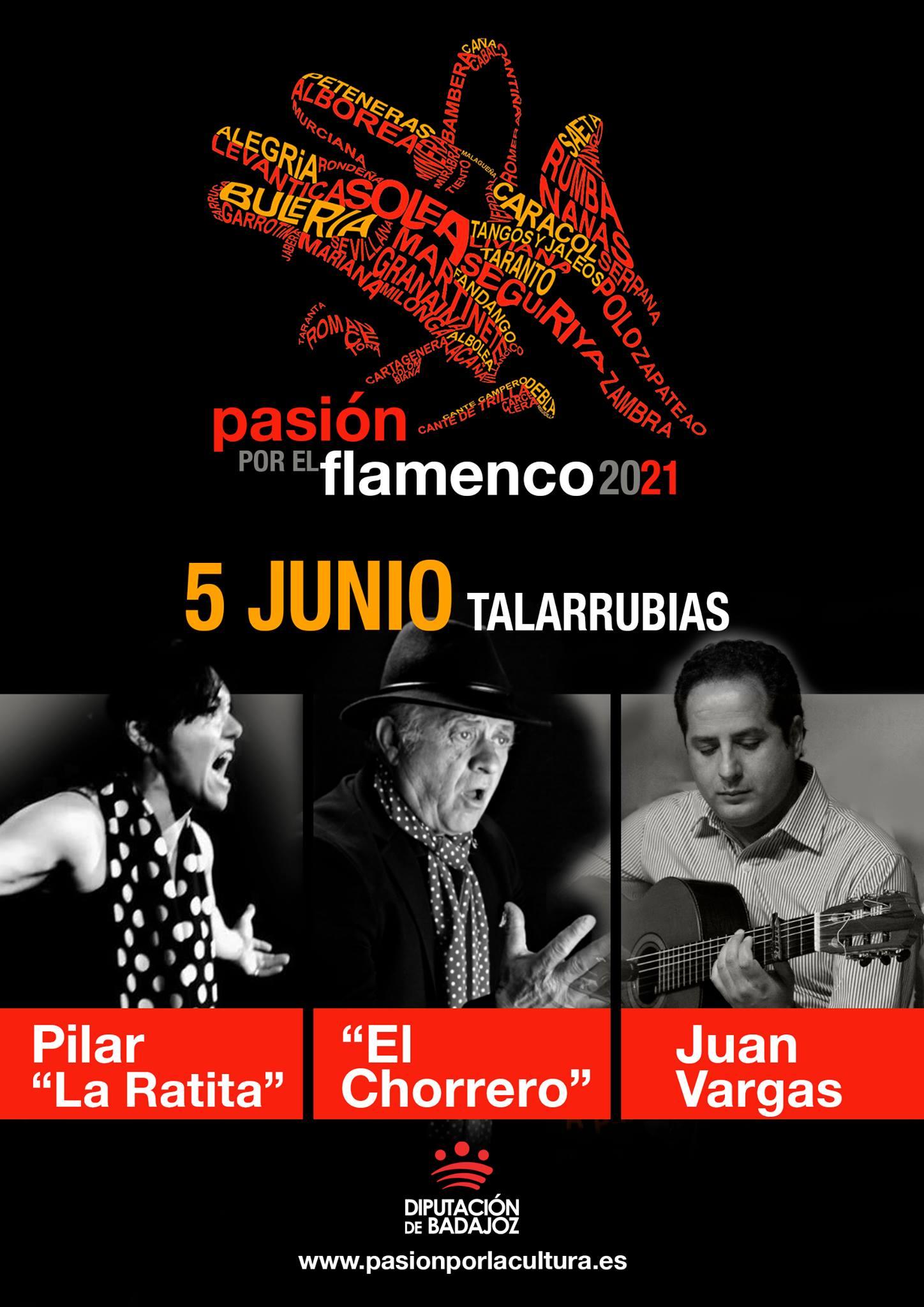 PASIÓN POR EL FLAMENCO | Pilar 'La Ratita' + El Chorrero + Juan Vargas