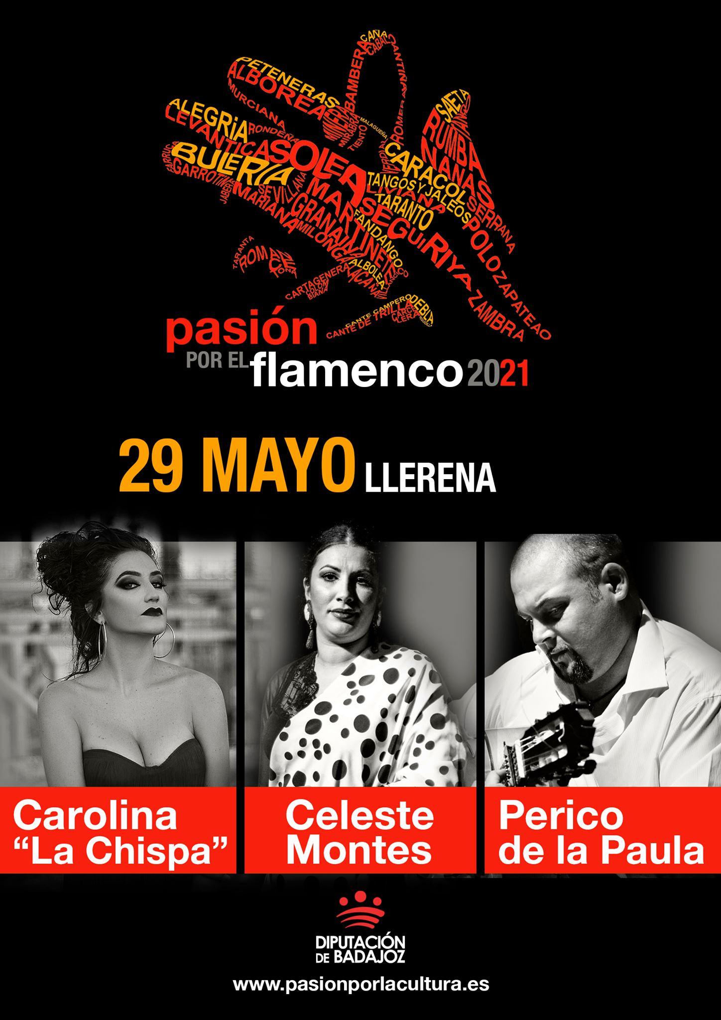PASIÓN POR EL FLAMENCO | Carolina 'La Chispa' + Celeste Montes + Perico de la Paula