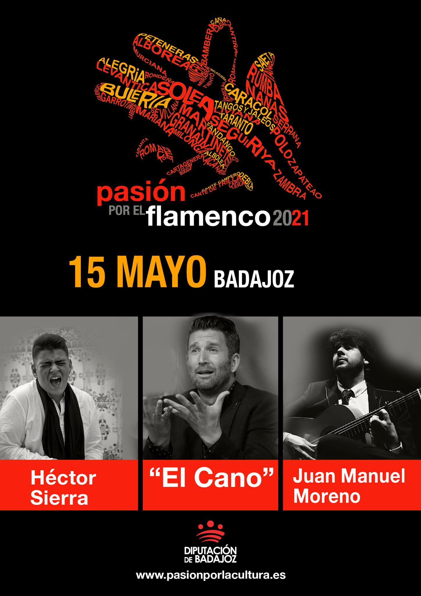 PASIÓN POR EL FLAMENCO | El Cano + Héctor Sierra + Juan Manuel Moreno