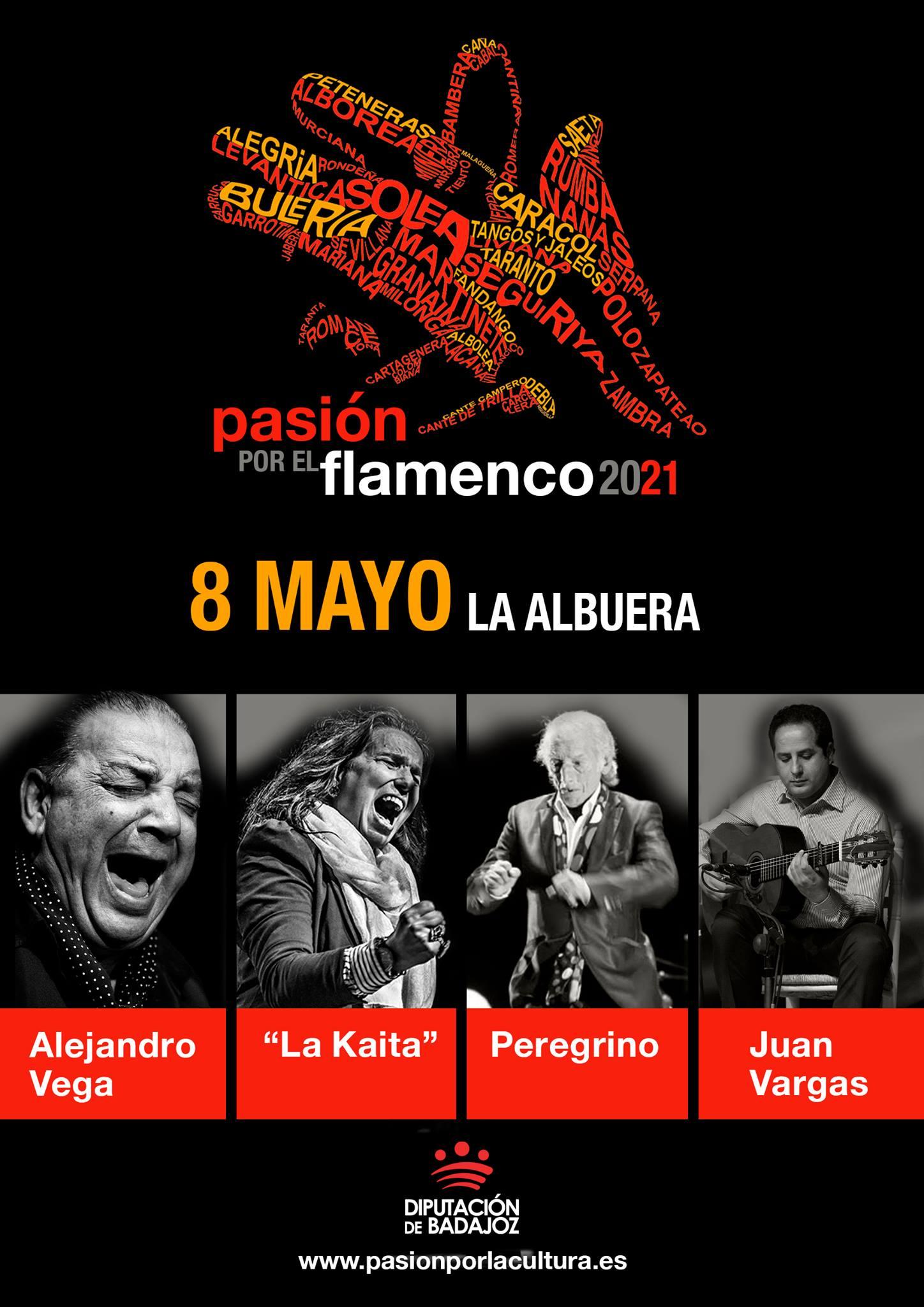 PASIÓN POR EL FLAMENCO | La Kaita + Alejandro Vega + Peregrino - Juan Vargas