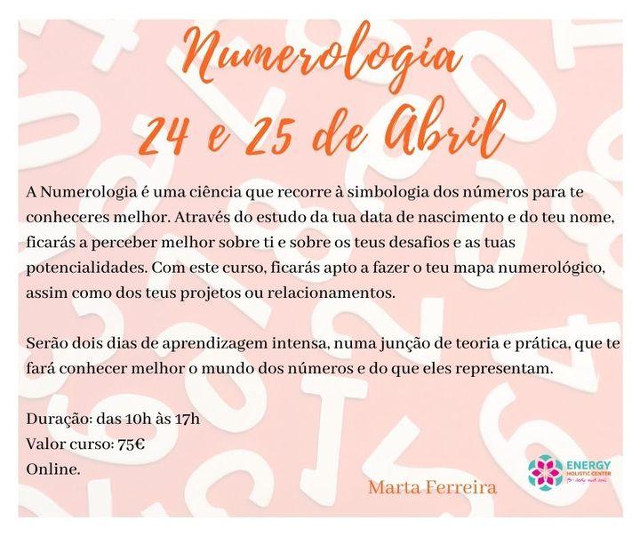 Numerologia- Curso