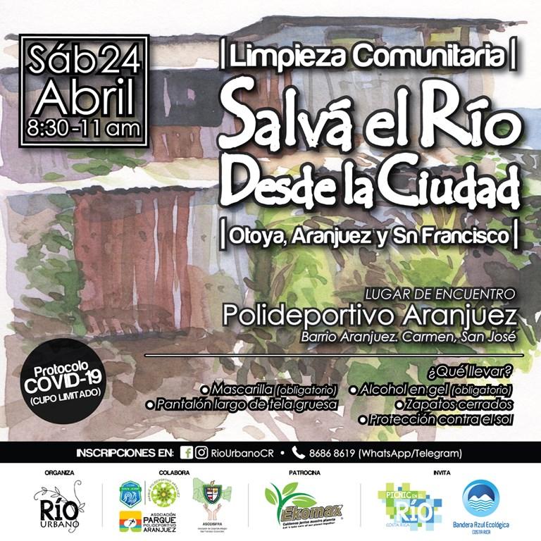 Limpieza Comunitaria 'Salvá el río desde la ciudad' / Abril