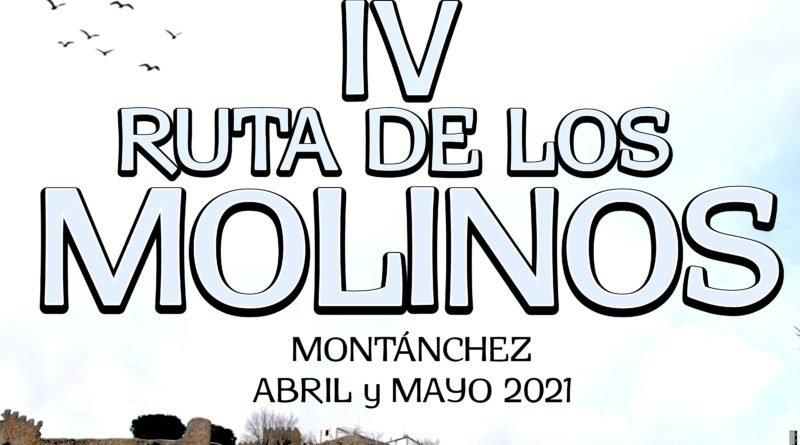 IV Ruta de Los Molinos PR-CC 27 –Montánchez – de abril a mayo