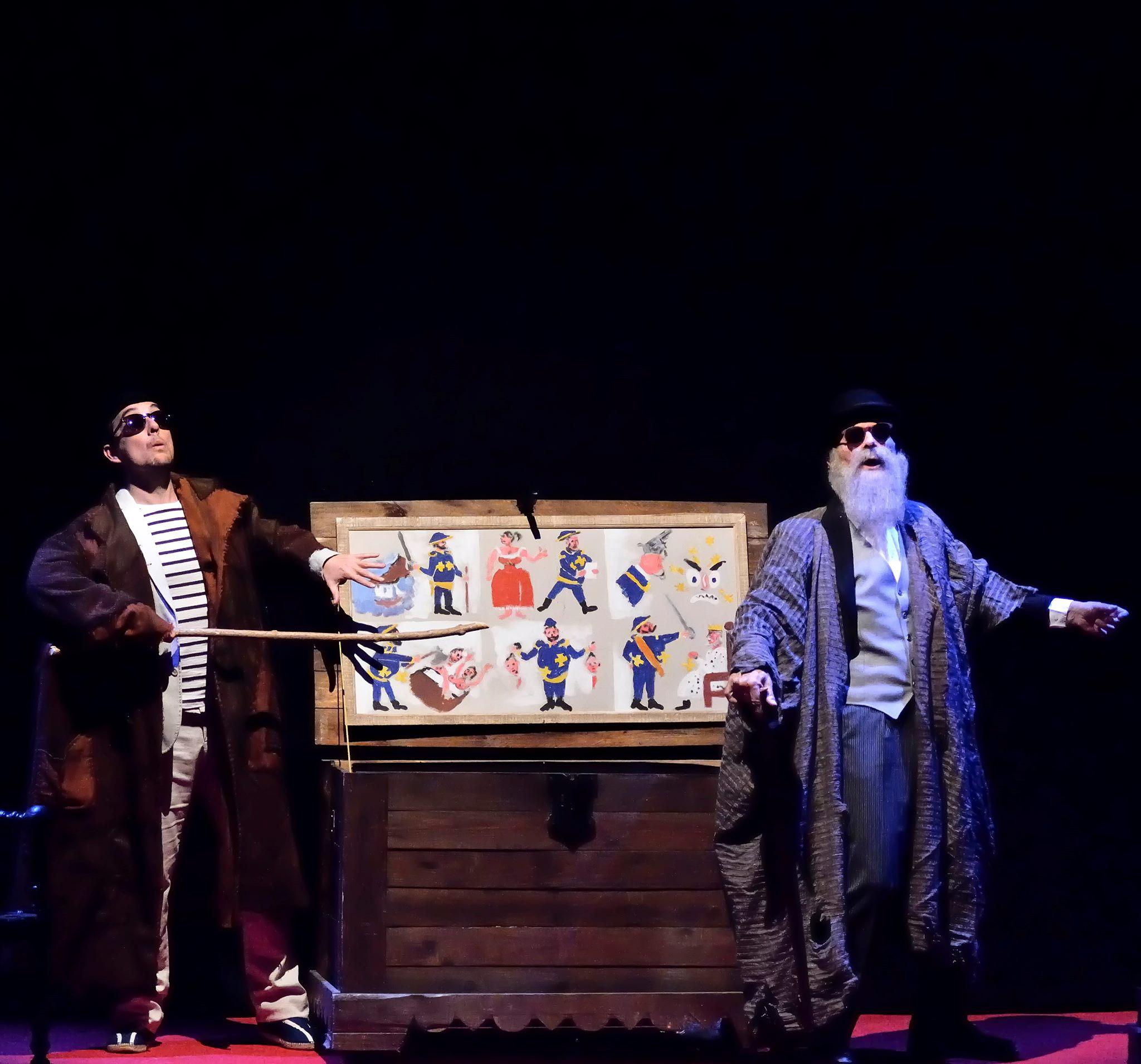 Teatro À(s) Quinta(s) - 'Diálogo de Sombras' -Tranvía Teatro