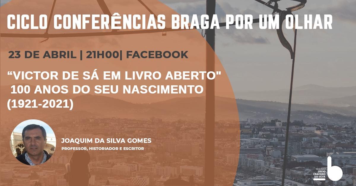 Ciclo de conferências Braga por um olhar