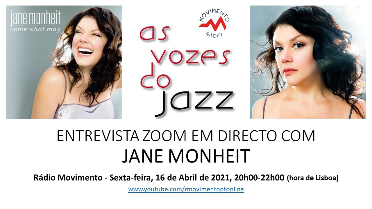 As Vozes do Jazz com Jane Monheit em entrevista