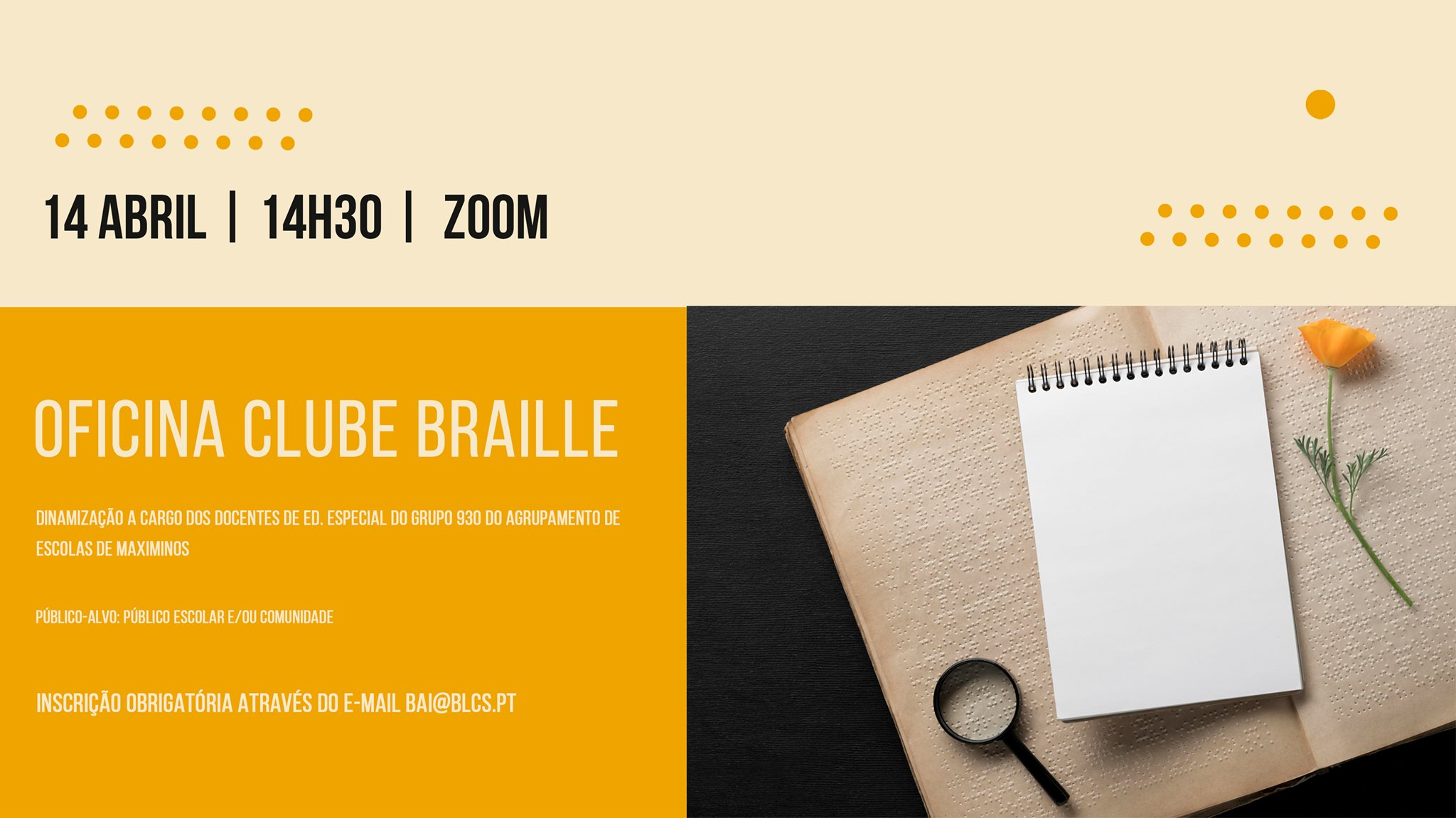 Oficina Clube Braille