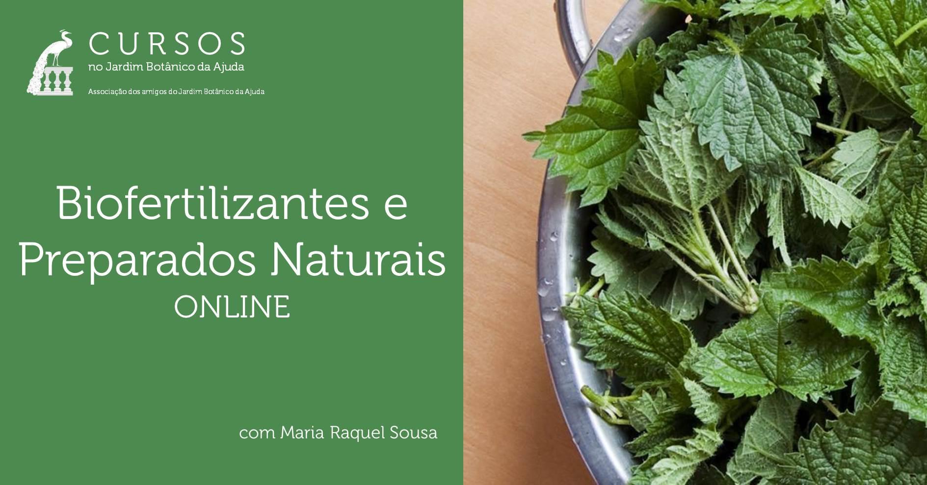 Biofertilizantes e Preparados Naturais | Curso Online