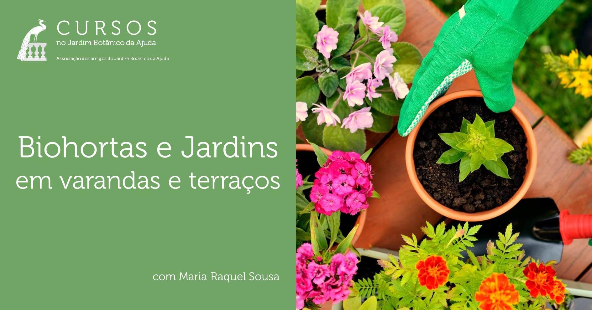 Biohortas e Jardins em varandas e terraços