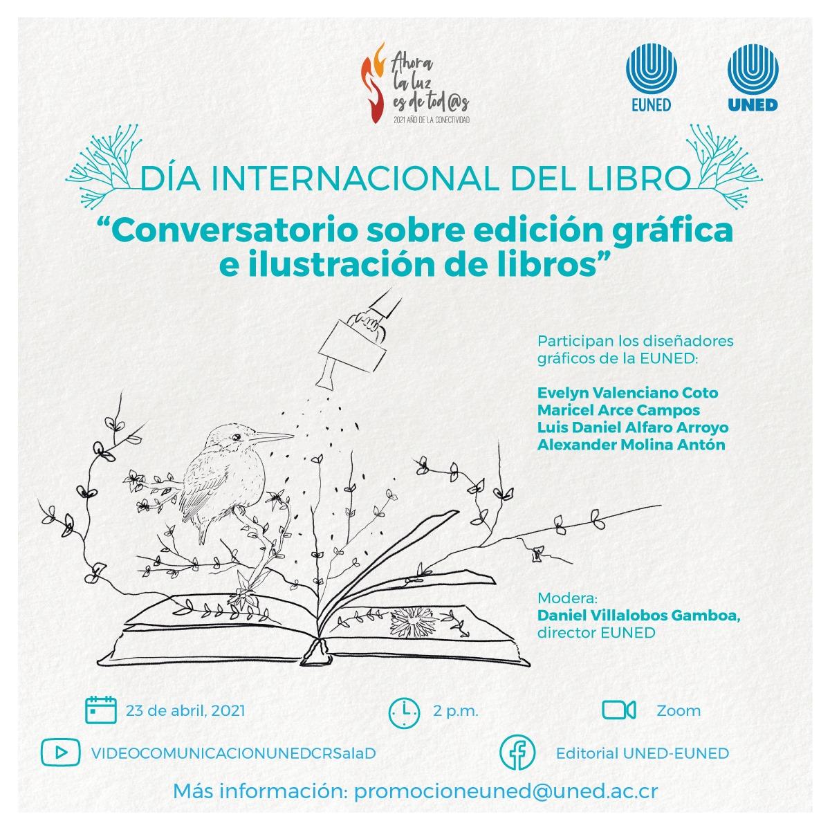 Conversatorio sobre edición gráfica e ilustración de libros