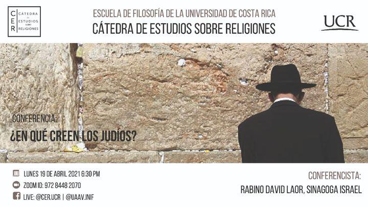 Conferencia: ¿En qué creen los judíos?