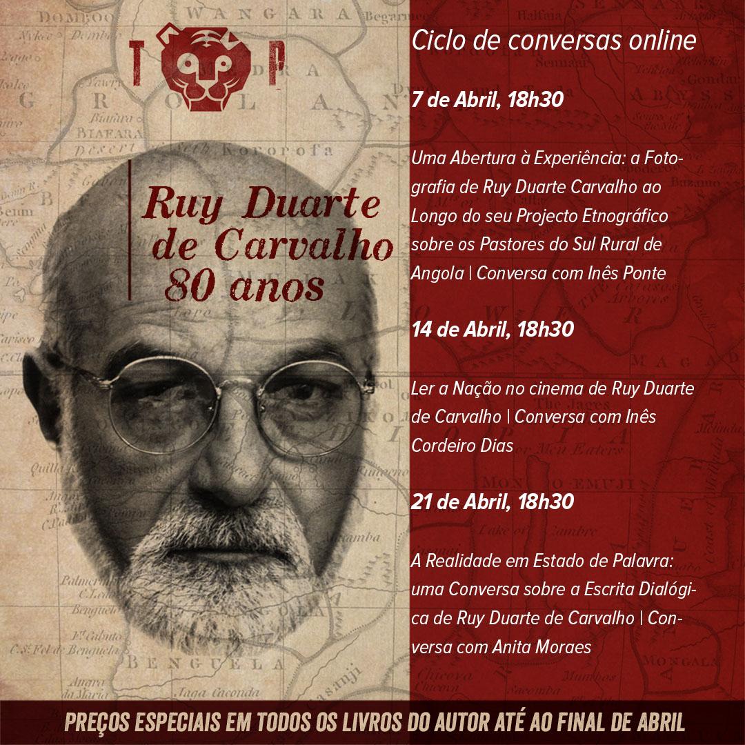 Ler a Nação no Cinema de Ruy Duarte de Carvalho | Conversa com Inês Cordeiro Dias