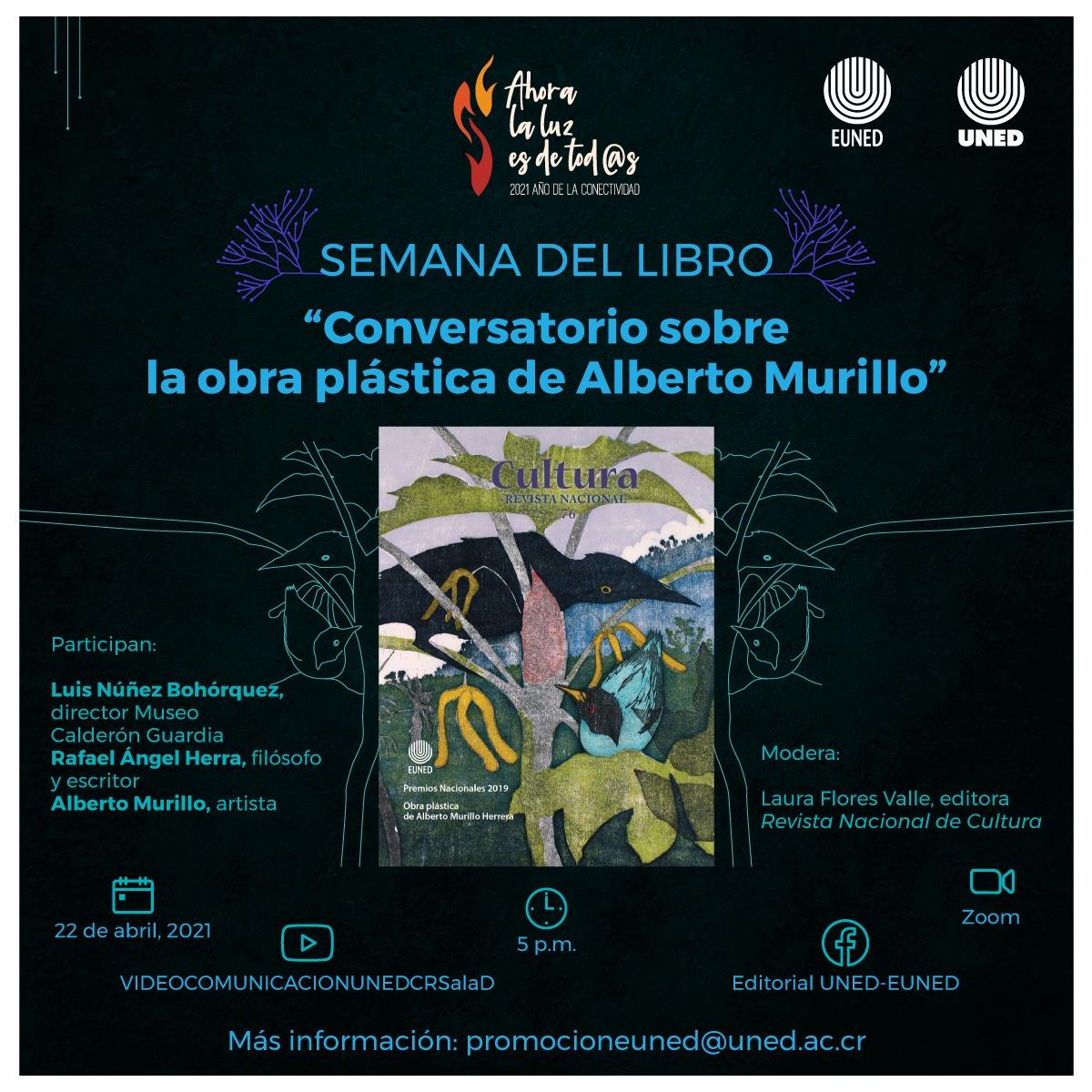 Conversatorio sobre la obra plástica de Alberto Murillo Herrera