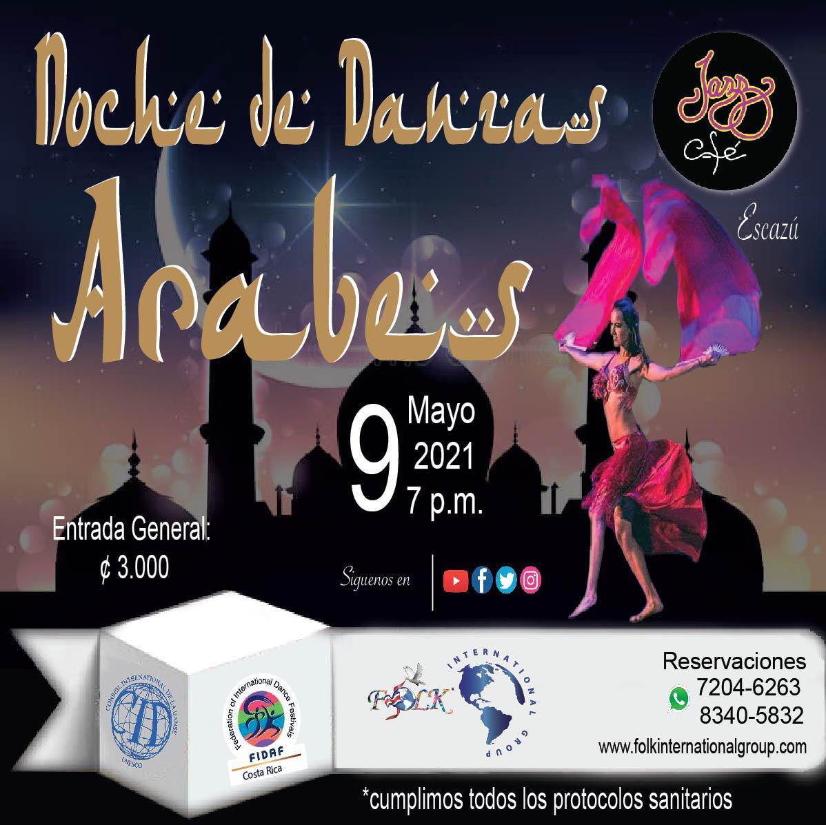 Noche de Danzas Árabes