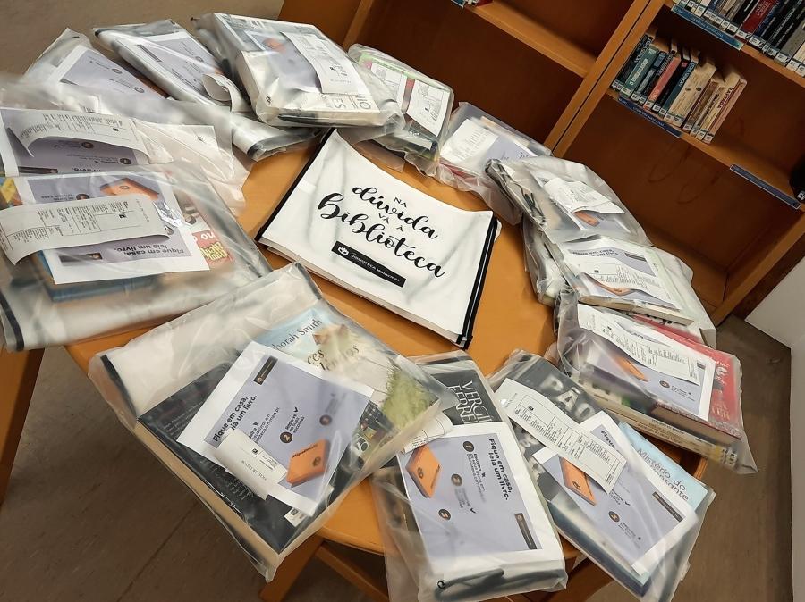 Biblioteca - Serviço Extraordinário de empréstimo ao domicílio