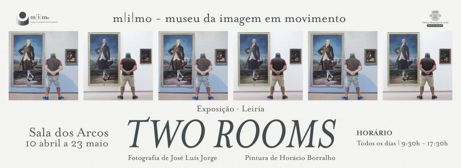 Two rooms, com pintura de Horácio Barralho e fotografia de José ...