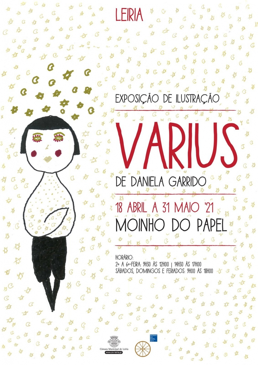 Varius: Exposição de ilustração de Daniela Garrido
