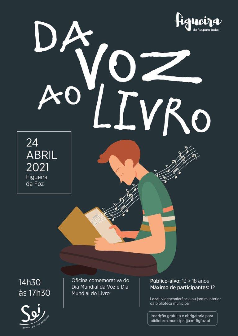 Comemoração do Dia Mundial da Voz e Dia Mundial do Livro Oficina Da Voz ao Livro