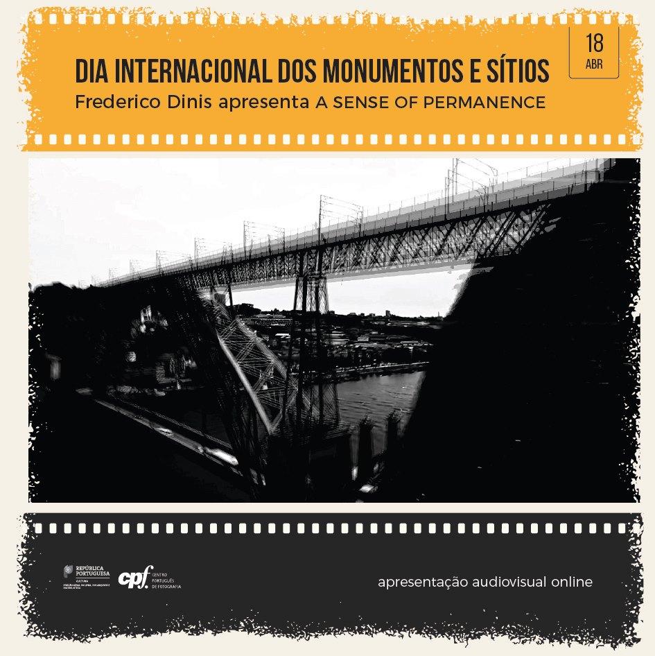 a sense of permanence - peça audiovisual de autoria de Frederico Dinis