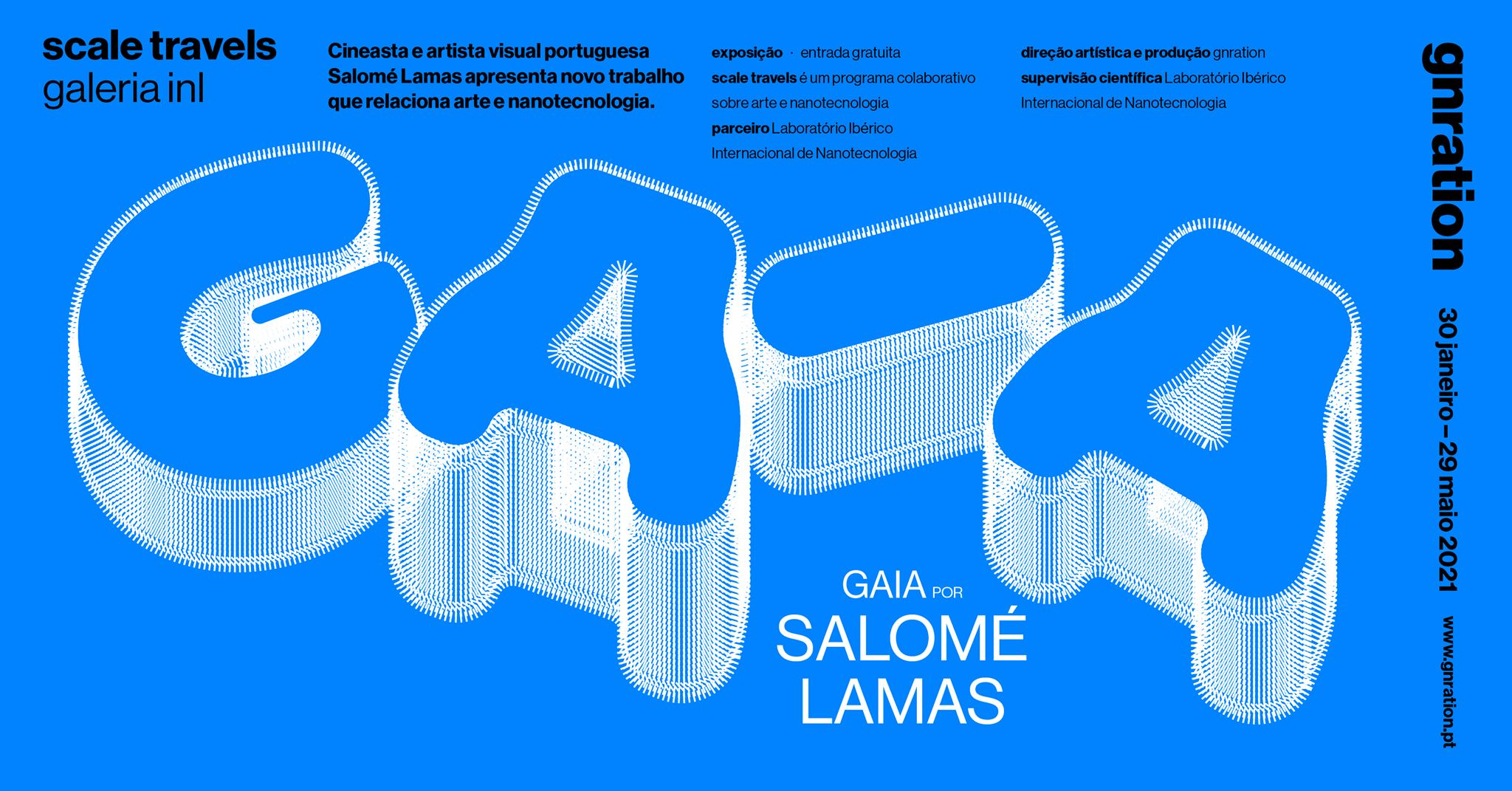 Scale Travels: Gaia, por Salomé Lamas  [exposição]   gnration