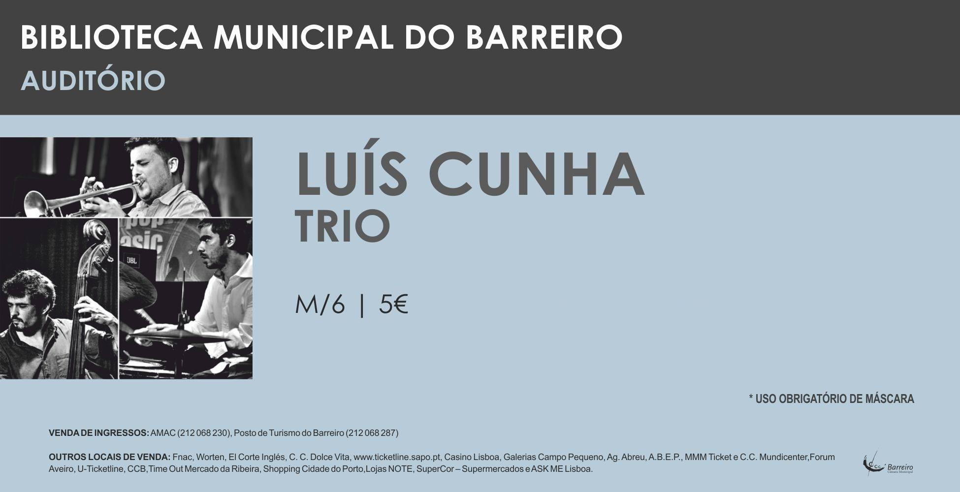 Concerto Luís Cunha Trio   Jazz
